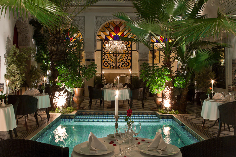Riad monceau restaurants enjoy moroccan gastro or bistro for Restaurant le jardin marrakech medina