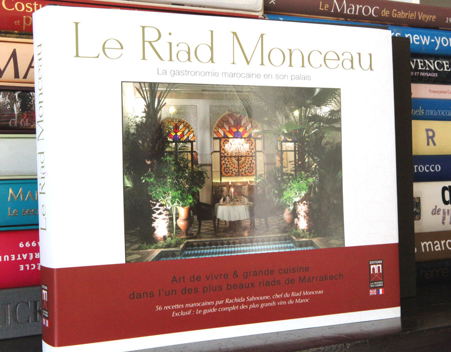 Riad Monceau's book front cover