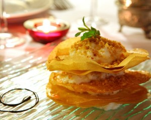 Moroccan food recipe - milk pastilla - Restaurant Riad Monceau